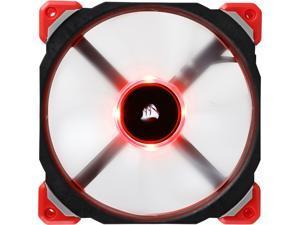 Corsair ML140 PRO LED CO-9050047-WW 140mm Premium Magnetic Levitation PWM Fan RED