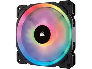 Corsair LL Series CO-9050073-WW LL140 RGB, 140mm Dual Light Loop RGB LED PWM Fan, Single Pack
