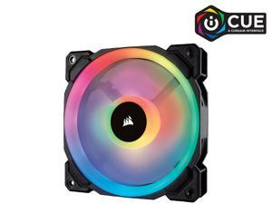 Corsair LL Series CO-9050071-WW LL120 RGB, 120mm Dual Light Loop RGB LED PWM Fan, Single Pack