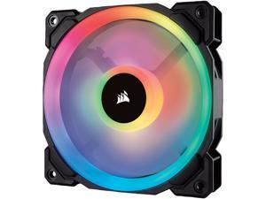 Corsair LL Series CO-9050071-WW LL120 RGB, 120mm Dual Light Loop RGB LED PWM Fan, Single Pack