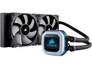 Corsair Hydro Series H100i PRO Low Noise 240mm RGB Water/Liquid CPU Cooler 240mm (CW-9060033-WW) Support Intel LGA 1200, 2066, AMD AM4