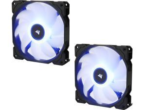 Corsair AF Series AF140 LED (2018) CO-9050090-WW 140mm Blue LED Case Fan, 2-Pack