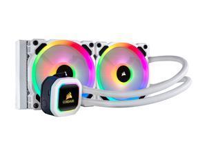 Corsair Hydro Series, H100i RGB PLATINUM SE, 240mm Radiator, Dual LL120 RGB PWM Fans, Advanced RGB Lighting and Fan Control with Software, Liquid CPU Cooler. (CW-9060042-WW)