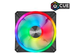 CORSAIR QL Series, iCUE QL140 RGB, 140mm RGB LED Fan, Single Pack, CO-9050099-WW