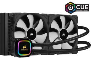 CORSAIR iCUE H115i RGB PRO XT, 280mm Radiator, Dual 140mm PWM Fans, Software Control, Liquid CPU Cooler, CW-9060044-WW