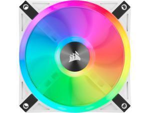CORSAIR QL Series, iCUE QL120 RGB, 120mm RGB LED PWM White Fan, Single Fan - CO-9050103-WW