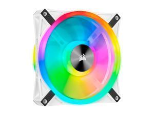 CORSAIR QL Series, iCUE QL140 RGB, 140mm RGB LED PWM White Fan, Single Fan - CO-9050105-WW