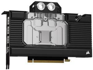 CORSAIR Hydro X Series XG7 RGB 30-SERIES FOUNDERS EDITION GPU Water Block (3080) - Fits NVIDIA GeForce RTX (3080) - Nickel-Plated Copper Construction - Full-Length Backplate - Addressable RGB LEDs