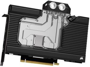 CORSAIR Hydro X Series XG7 RGB 30-SERIES FOUNDERS EDITION GPU Water Block (3090) - Fits NVIDIA GeForce RTX (3090) - Nickel-Plated Copper Construction - Full-Length Backplate - Addressable RGB LEDs