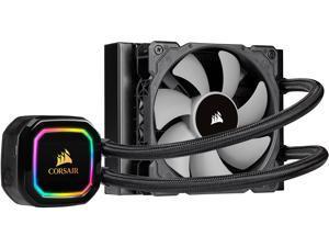 CORSAIR iCUE H60i RGB PRO XT, 120mm Radiator, Single 120mm PWM Fan, Software Control, Liquid CPU Cooler, CW-9060049-WW