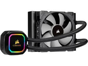 CORSAIR iCUE H60i RGB PRO XT, 120mm Radiator, Single 120mm PWM Fan, Software Control, Liquid CPU Cooler, CW-9060049-WW