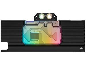 CORSAIR Hydro X Series XG7 RGB 20-SERIES GPU Water Block - Fits NVIDIA GeForce RTX 2080 Ti - Nickel-Plated Copper Construction - Full-Length Backplate - 16 Individually Addressable RGB LEDs