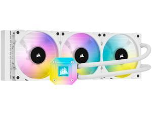 CORSAIR iCUE H150i ELITE CAPELLIX WHITE, 360mm Radiator, Liquid CPU Cooler, White, CW-9060051-WW