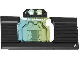 CORSAIR Hydro X Series XG7 RGB 30-SERIES REFERENCE GPU Water Block (3090, 3080) - Fits 30+ Reference Design NVIDIA GeForce RTX (3090, 3080) Models