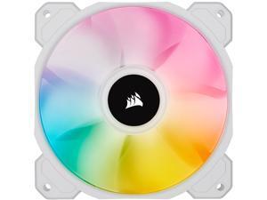 CORSAIR iCUE SP120 RGB ELITE Performance 120mm White PWM Single Fan (CO-9050136-WW)