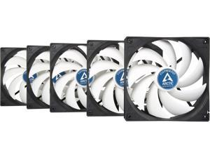 Arctic F14 PWM PST Value pack Standard Low Noise PWM Controlled Case Fan with PST Feature Cooling, 5 Pack