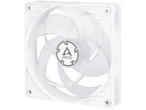 Arctic P12 PWM (White/Transparent), Pressure Optimised 120mm Fan with PWM