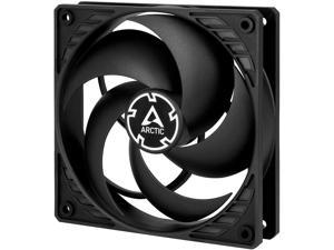 Arctic P12 PWM PST (Black/Black) - Pressure-optimised 120 mm Fan with PWM and PST (PWM Sharing Technology)