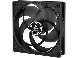 Arctic P12 PWM PST (Black/Transparent) - Pressure-optimised 120 mm Fan with PWM and PST (PWM Sharing Technology)