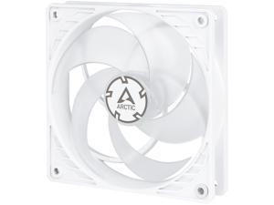 Arctic P12 PWM PST (White/Transparent) - Pressure-optimised 120 mm Fan with PWM and PST (PWM Sharing Technology)