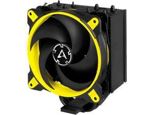 ARCTIC Freezer 34 eSports Edition - Tower CPU Cooler with Push-Pull Configuration, Wide Range of Regulation 200 to 2100 RPM, Includes Low Noise PWM 120 mm Fan - Yellow