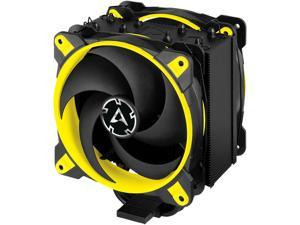 ARCTIC Freezer 34 eSports DUO - Tower CPU Cooler with Push-Pull Configuration, Wide Range of Regulation 200 to 2100 RPM, Includes 2 Low Noise PWM 120 mm Fans - Yellow