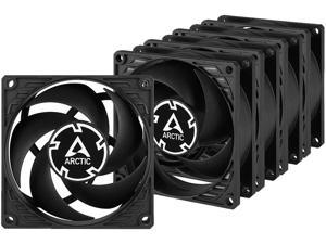 ARCTIC COOLING P8 Value Pack ACFAN00153A 80mm Pressure-optimised Case Fan (5-Pack)