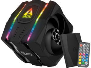 ARCTIC COOLING ACFRE00070A 1 x 120 mm 1 x 140 mm Fluid Dynamic Dual Tower CPU Cooler for Threadripper with A-RGB