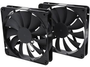 140mm Computer Case Cooling Fan LP4 Adapter Dynamic Bearing Quiet Rosewill