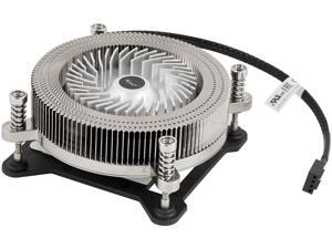 Rosewill ROCC-17001 1U Low Profile CPU Cooler, Full Copper & Aluminum Structure 60 mm PWM Fan & 4-Pin Connector, Slim 27mm Height