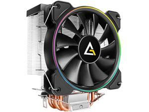 Antec A400 RGB 120mm CPU Cooler, 4-Pin Connector PWM Silent Fan for Intel and AMD