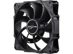 Enermax D.F. Storm 120mm Fan Dust Free Rotation Technology High Performance 3500RPM Black UCDF12P