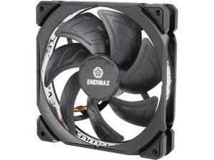 Enermax T.B. Silence Adv 140mm Fan Ultra Silent Fan Enerflo Channel Blade Design, Black, UCTBA14P
