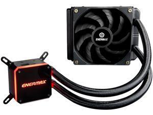 Enermax LIQMAX III 120 Performance, All-in-one CPU Liquid Cooler for AM4 / LGA1200, 120mm Radiator, Dual-Chamber Water Block, Dual-Convex Blade Fan