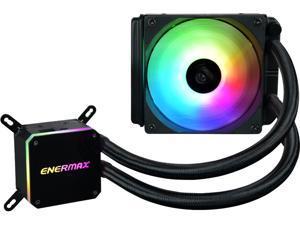 Enermax LIQMAX III ARGB 120, Addressable RGB All-in-one CPU Liquid Cooler for AM4 / LGA1200, 120mm Radiator, Dual-Chamber Water Block, ARGB Fan, 5 Year Warranty