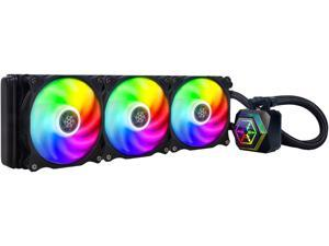 SilverStone PF360-ARGB AIO CPU Liquid Cooling/ARGB/Triple 120mm PWM Fan/MCT Pump/Universal Intel & AMD Socket Solution