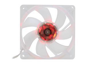 SilenX EFX-08-15R 80mm Red LED Effizio Quiet Case Fan