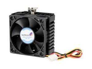StarTech.com FAN370PRO 58mm Ball 65x60x45mm Socket 7/370 CPU Cooler Fan w/ Heatsink & TX3 connector