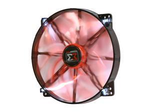 XIGMATEK FCB (Fluid Circulative Bearing) Cooling System XLF XLF-F1703 170mm LED Orange Case Fan PSU Molex Adapter/extender included