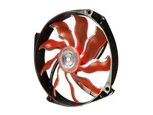 XIGMATEK AOS (Aeronautical Oil System Bearing) XAF-F1453 140mm White LED Orange Case Fan Ultra Quiet Copper Bushing Axis Aeronautical Oil System Bearing