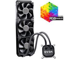 EVGA CLC 360 400-HY-CL36-V1 All-In-One RGB LED CPU Liquid Cooler, 3x FX12 120mm PWM Fans, Intel, AMD