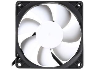 Fractal Design Silent Series R3 Black/White Silence-Optimized 80mm Case Fan