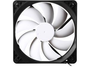 Fractal Design Silent Series R3 Black/White Silence-Optimized 140mm Case Fan