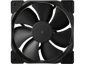 Fractal Design Venturi HP Series Black Fluid Dynamic Bearing High Pressure PWM 120mm Radiator/Heatsink Optimized Fan