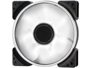 Fractal Design Prisma SL-12 120mm White LED Long Life Sleeve Bearing Computer Case Fan