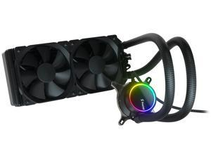 Fractal Design Celsius+ S24 Dynamic X2 PWM Black 240mm Silent Performance Slim Radiator AIO CPU Liquid/Water Cooler