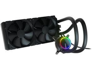 Fractal Design Celsius+ S28 Dynamic X2 PWM Black 280mm Silent Performance Slim Radiator AIO CPU Liquid/Water Cooler