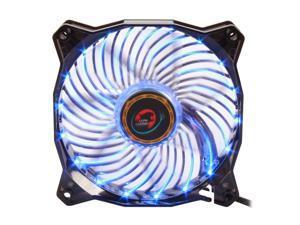 LEPA Casino 1C (LPVC1C12P-BL) 120mm Blue LED Case Fan