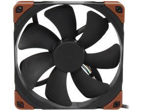 Noctua NF-A14 iPPC-3000 PWM, 4-Pin, Heavy Duty Cooling Fan with 3000RPM (140mm, Black)