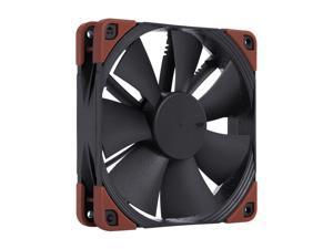 Noctua NF-F12 iPPC-2000, Heavy Duty Cooling Fan, 3-Pin, 2000 RPM (120mm, Black)
